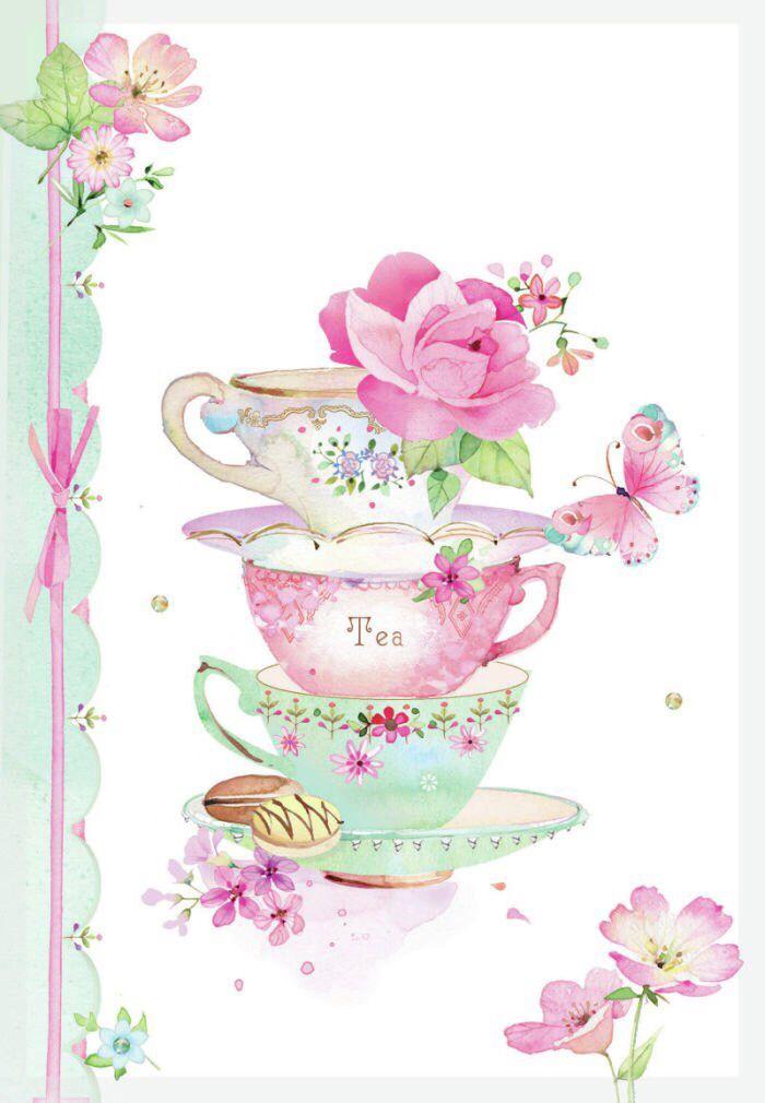 Teacups art