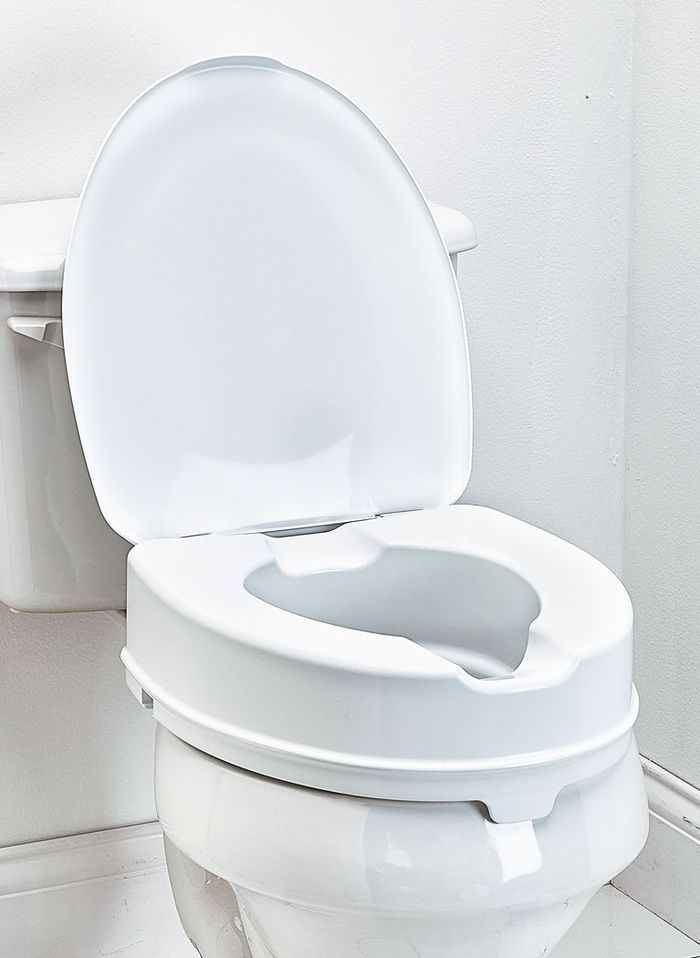 Toilet Seat Riser With Lid With Images Toilet Seat Toilet