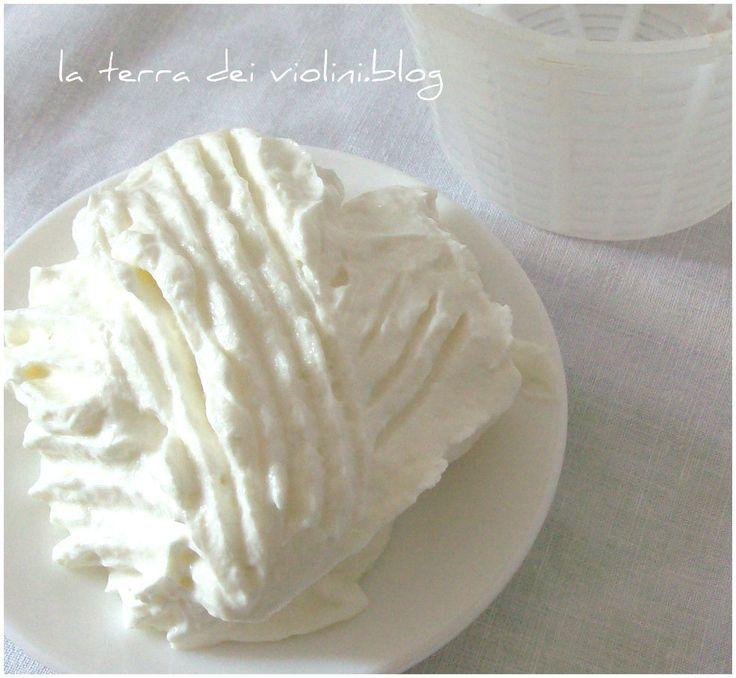 Formaggio fatto in casa con lo yogurt