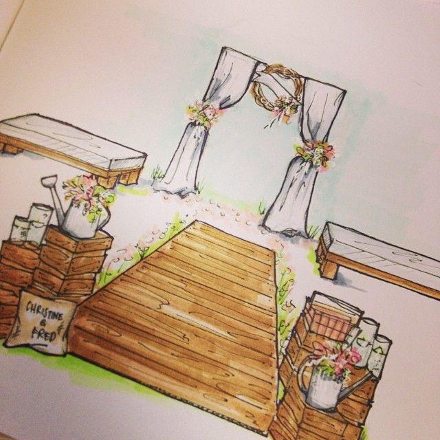 Ceremony sketch