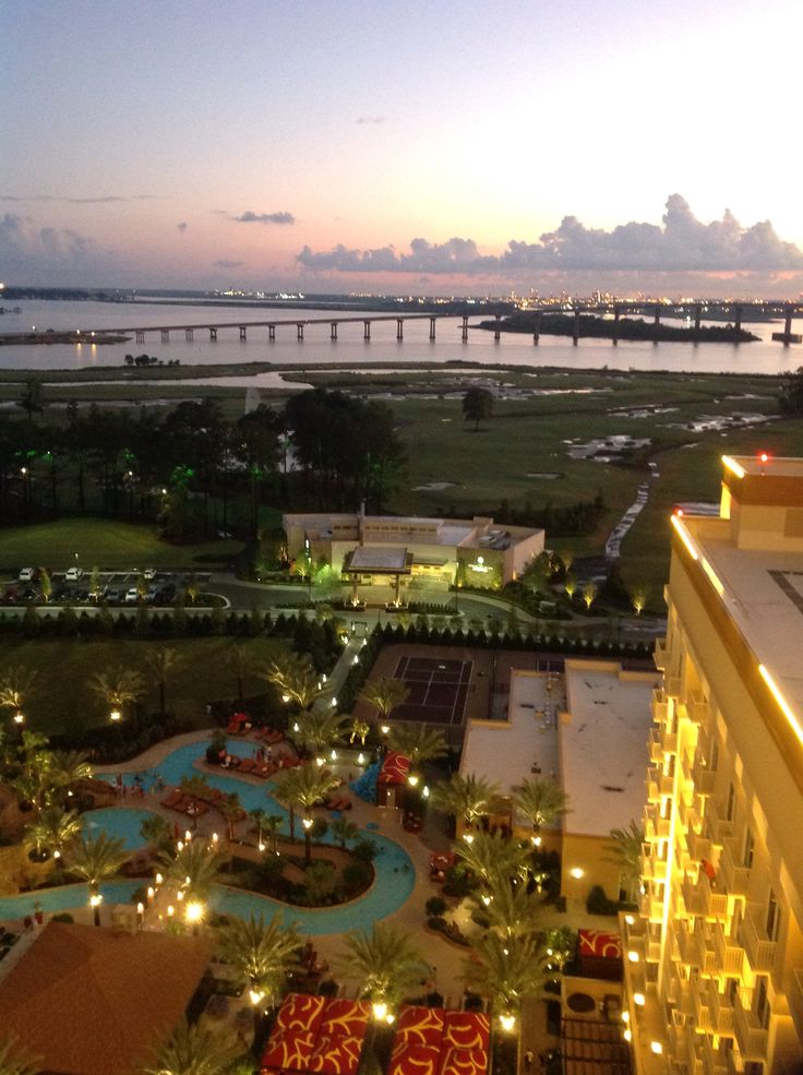View From Golden Nugget Lake Charles La
