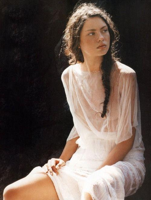 .: Lights, Beautiful Woman, Young Woman, Inspiration, Style, Freckle, Long Hair, Long Braids, Edyta Zajac