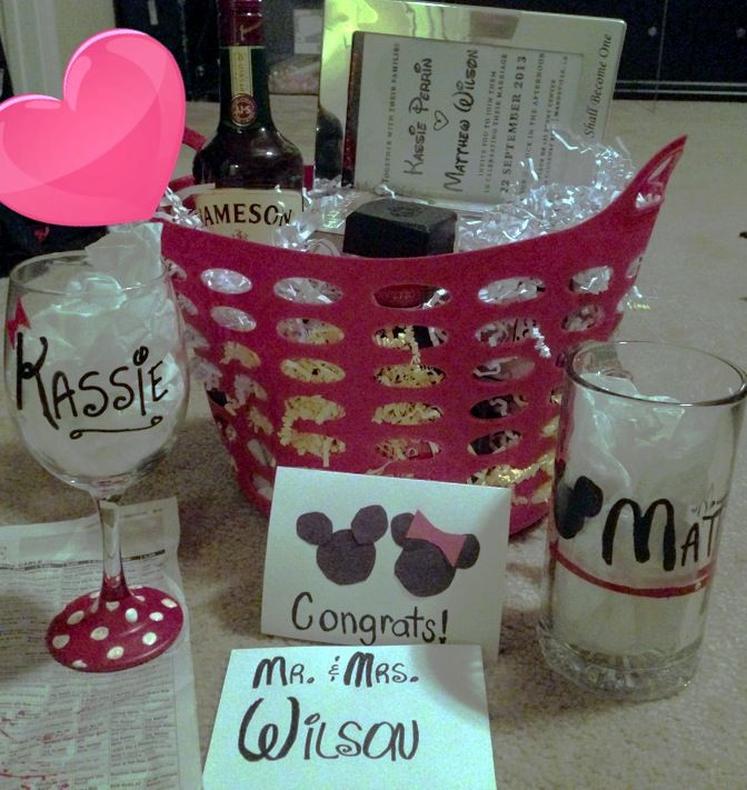 Gift Basket For Bride And Groom Wedding Night: 103 Best Images About Wedding Gift Ideas On Pinterest