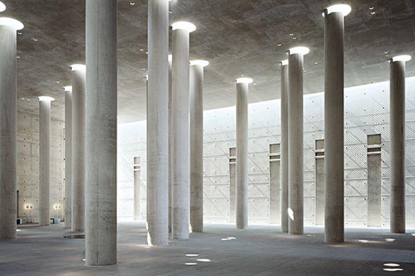 krematorium baumschulenweg - berlin - schultes frank - 1992-2000 - photo werner huthmacher