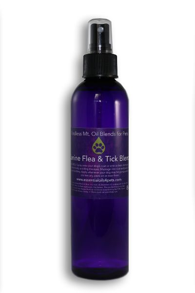 CANINE FLEA AND TICK BLEND - Essential Oil Blends For Pets - http://essentialoils4pets.com/product/flea-and-tick-formula/