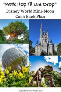 "Our ""Park Hop Til We Drop"", Disney World Mini-Moon Cash Back Plan » Namaste Home With Mom"
