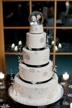62 Amazing Winter Wedding Cakes You Will Totally Love