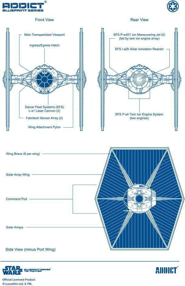 Tie Fighter Blueprint Star Wars Ships Ideas Of Star Wars Ships Starwars Ships Starwarships Tie F Star Wars Ships Star Wars Drawings Star Wars Models