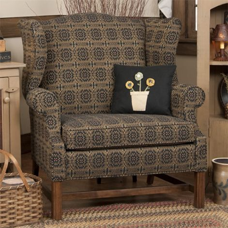 Superbe Grandmothers Wingback Chair