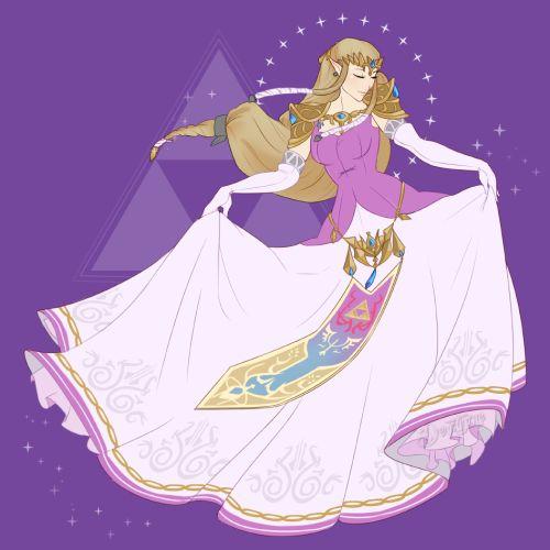 """Character Design Challenge Zelda : Derptyme """" day of daily art challenge zelda my"""
