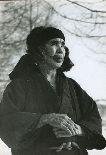 Ainu woman: photo by Fosco Maraini #Ainu #Hokkaido #Japan
