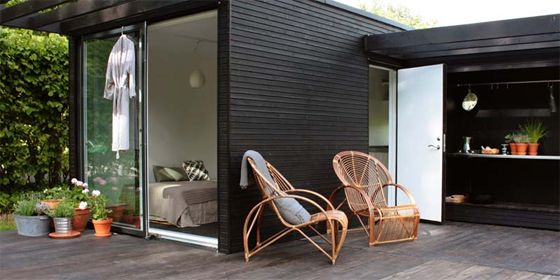 Simple, elegant house.