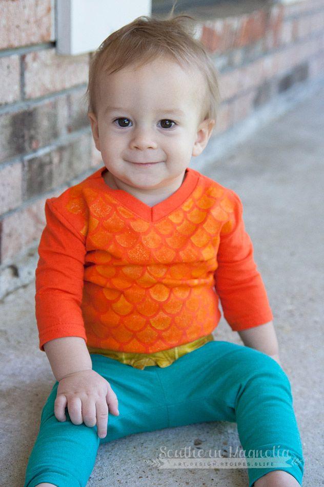 Aquaman costume tutorial