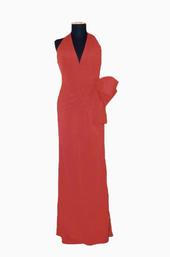 Vestido de noche. Autor: Valentino (Colección Primavera-Verano 1990)