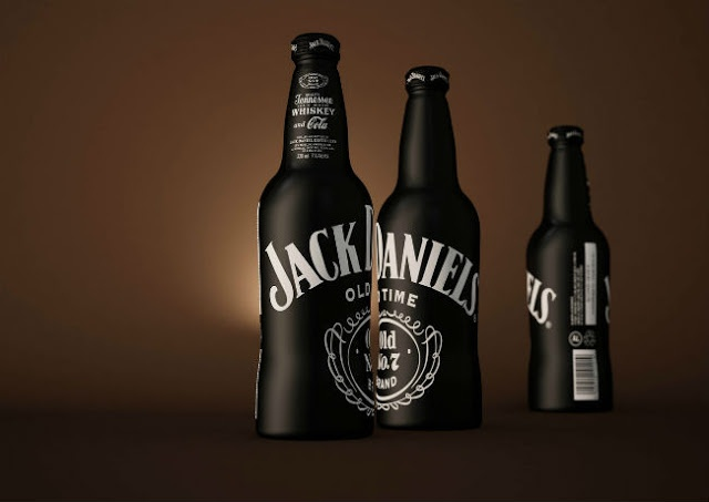 Packaging of the World: Creative Package Design Archive and Gallery: Jack Daniels & Cola (Concept)