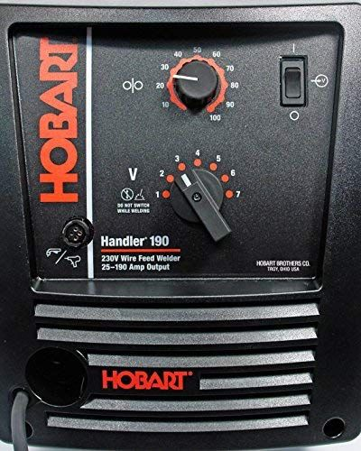 Hobart Handler 500554001 190 with SpoolRunner 100 (With ...