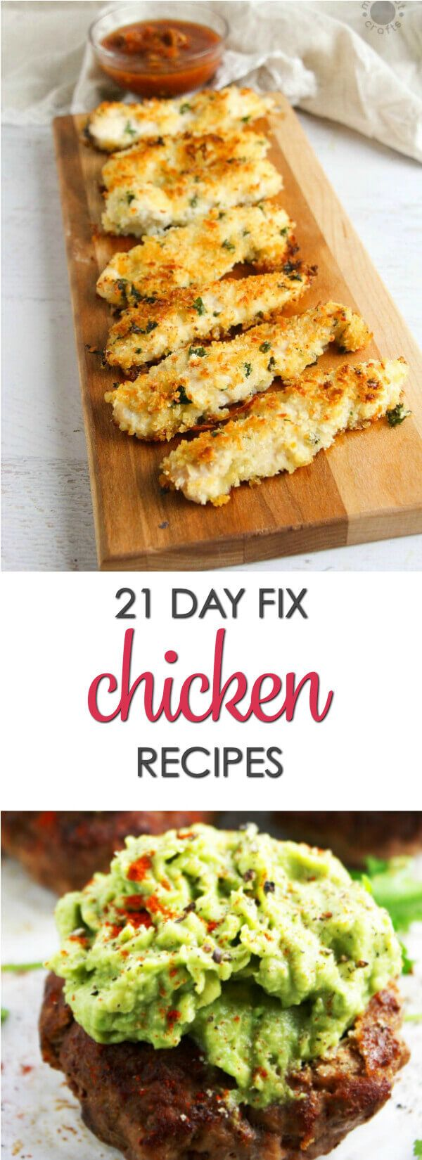 If you're following the 21 Day Fix program it's time to get inspired for dinner. Here are thirty 21 Day Fix Chicken Recipes that are full of flavor and easy to make.   #Itisakeeper #recipes #21DayFix via @itsakeeperblog