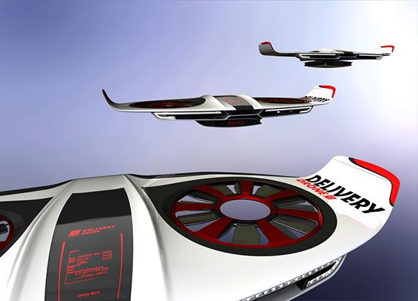 Delivery Drone Concept