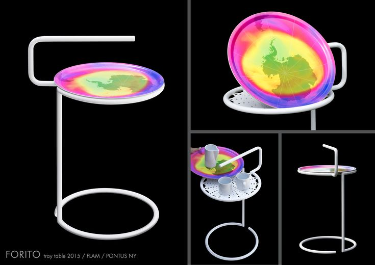 FORITO / By PONTUS NY. Tray table. Made in Sweden. 2014.