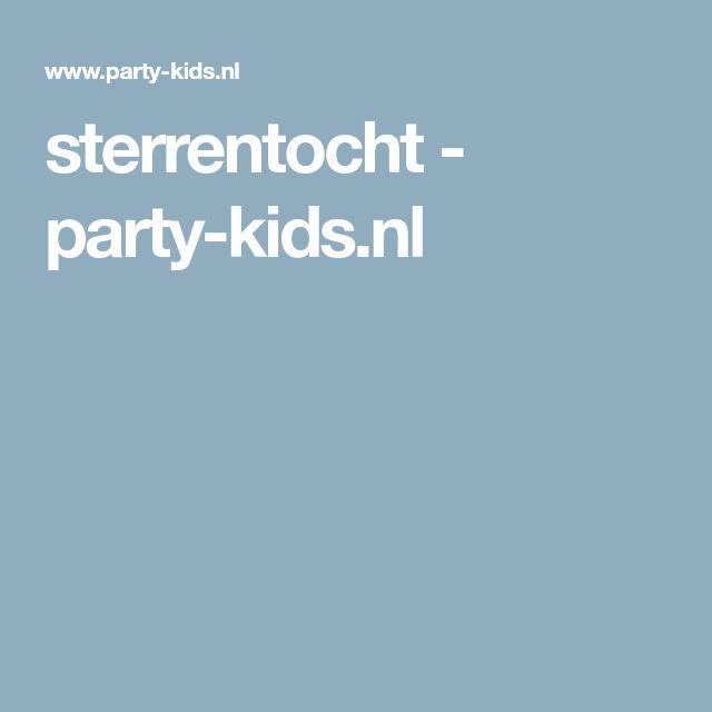 sterrentocht - party-kids.nl