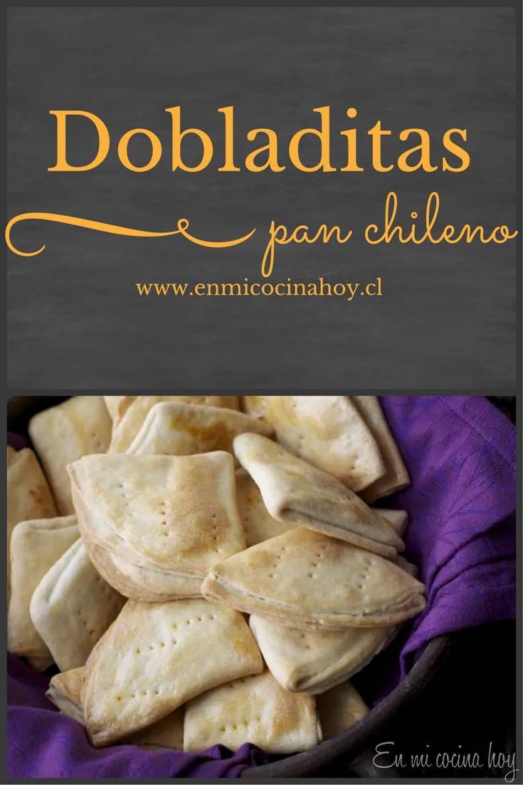 Las dobladitas son un típico pan chileno hecho con la misma masa de las…