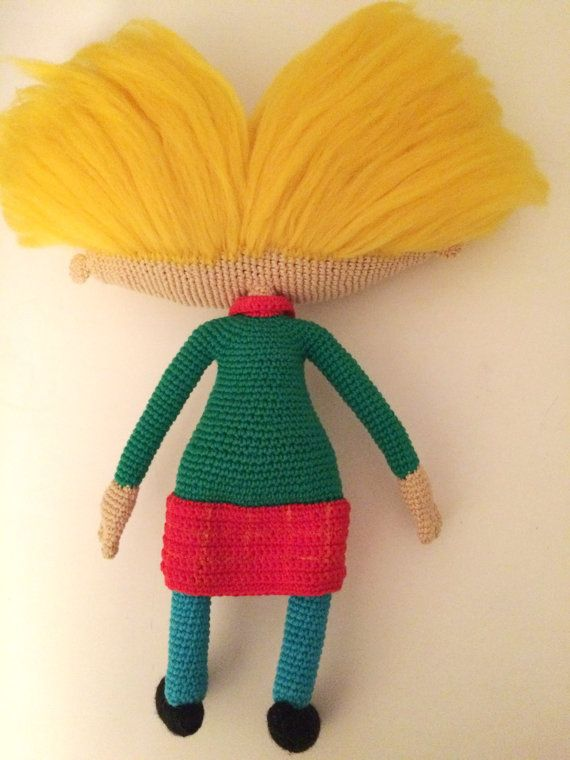 Arnold By Hey Arnold PDF CROCHET PATTERN Instant Download