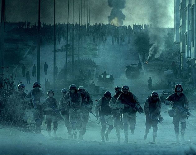 Black Hawk Down (Ridley Scott, 2001) la caída del halcón negro