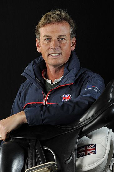 Out Olympian Carl Hester (Great Britain, equestrian) Photo: Kit Houghton