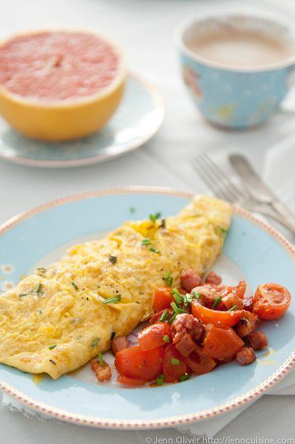 French Omelette by jenncuisine, via Flickr gluten free omelette for mothers day