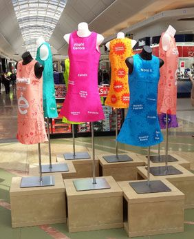 Spring into fashion - shopping centre promotion