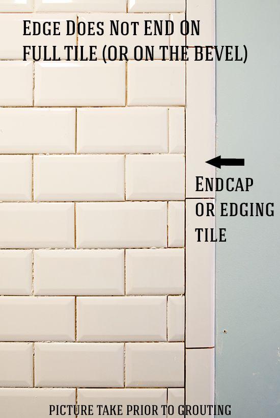 Installing Beveled Subway Tile Beveled Subway Tile Beveled Subway Tile Bathroom Beveled Subway Tile Backsplash