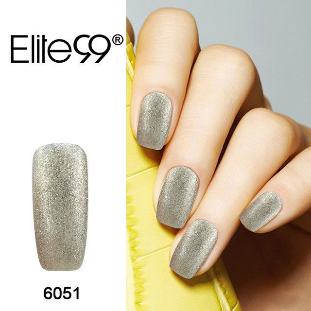 Elite99 3-in-1 UV LED One Step Nail Polish Gel Manicure Varnish 10ml