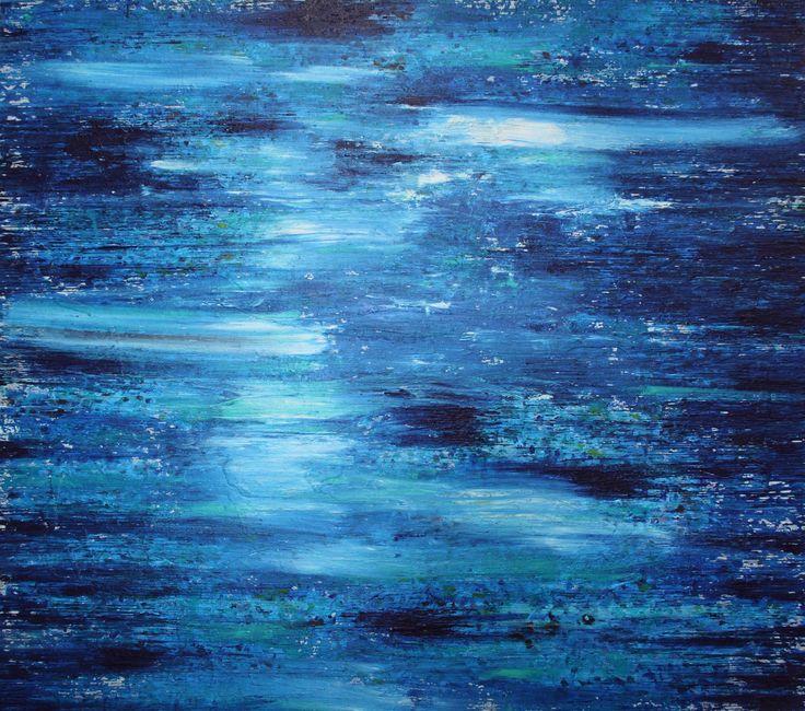 Light Touching The Waters 170cm x 150cm Mingara Gallery