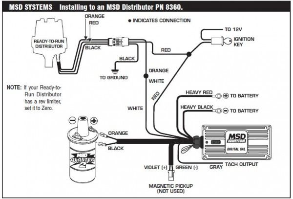 Msd 6al Hei Wiring Diagram In 2020
