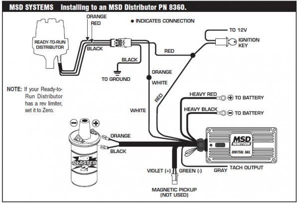 msd ignition 6al wiring diagram  ignite automotive