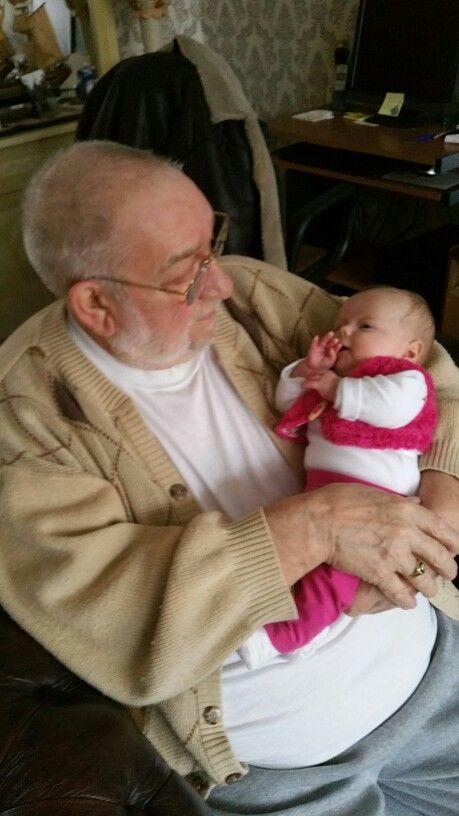 Opa met Amy