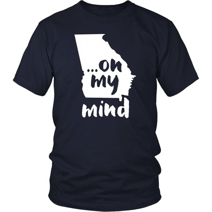 Georgia... on my mind State T-shirt