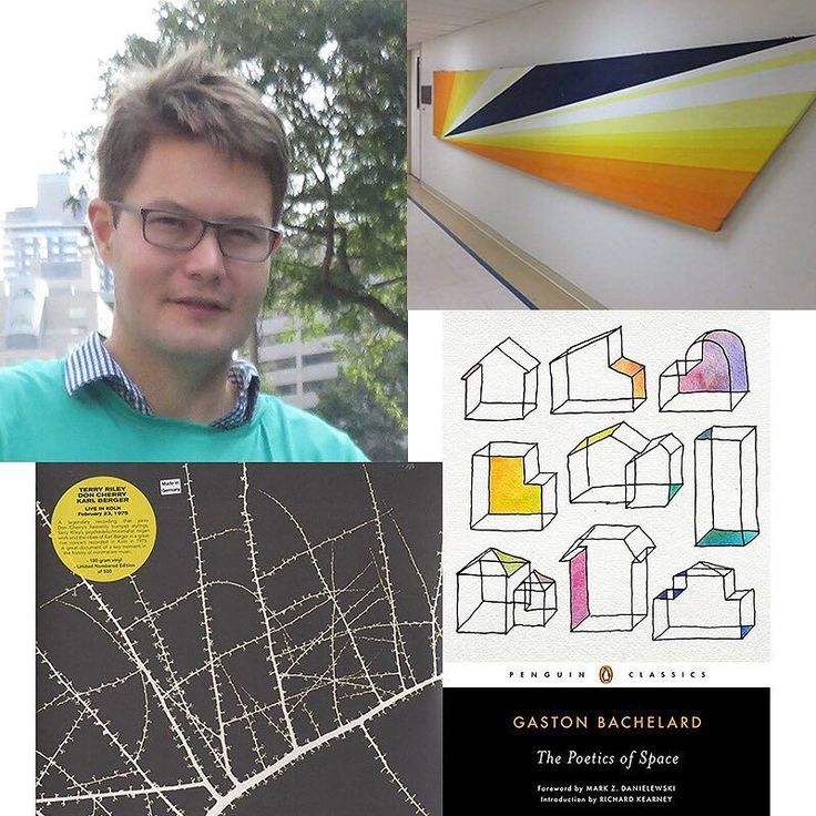 #AdamLauder is the curator of #Futurisms at the @mcintoshgallery  in London. His #HitList includes Rita Letendre Reverie Francois Laruelle Dr. Katz Professional Therapist and Terry Riley. Read it at akimbo.ca  #contemporaryart #cdnart #artcurator #curator #mcintoshgallery #favourites #philosophy #architecture