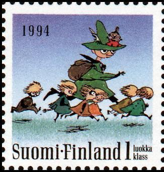 Literary Stamps: Jansson, Tove (1914 – 2001)