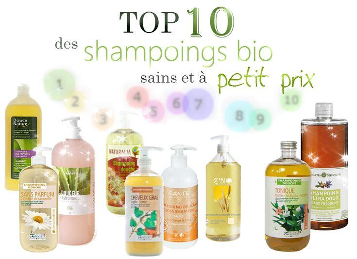 Les cheveux de Mini: Top 10 des shampoings bio vraiment sains et à petit prix !