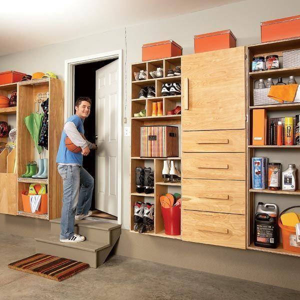 Amazing Wand Garage Schr nke carage Lagerschr nke Garage Organisation Ideen