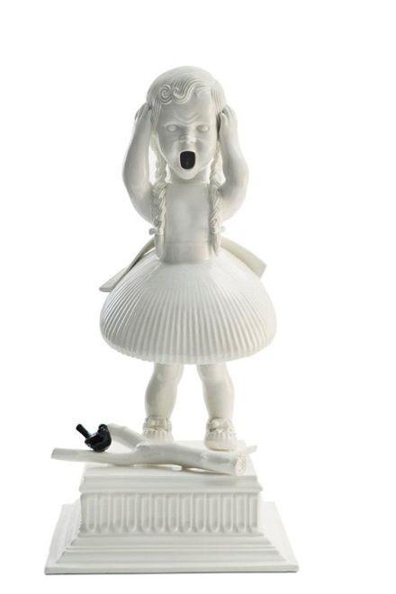 Best Strange Things Images On Pinterest Barbie Strange - Amazingly disturbing porcelain figurines by maria rubinke