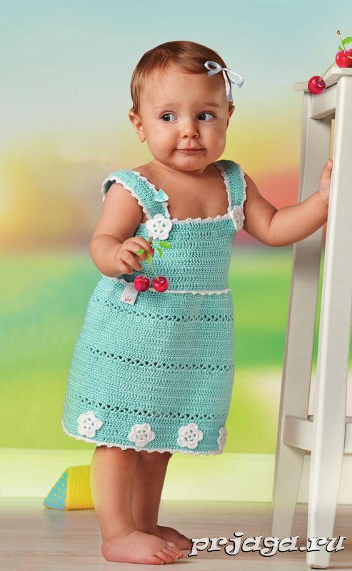Children's crochet sundress