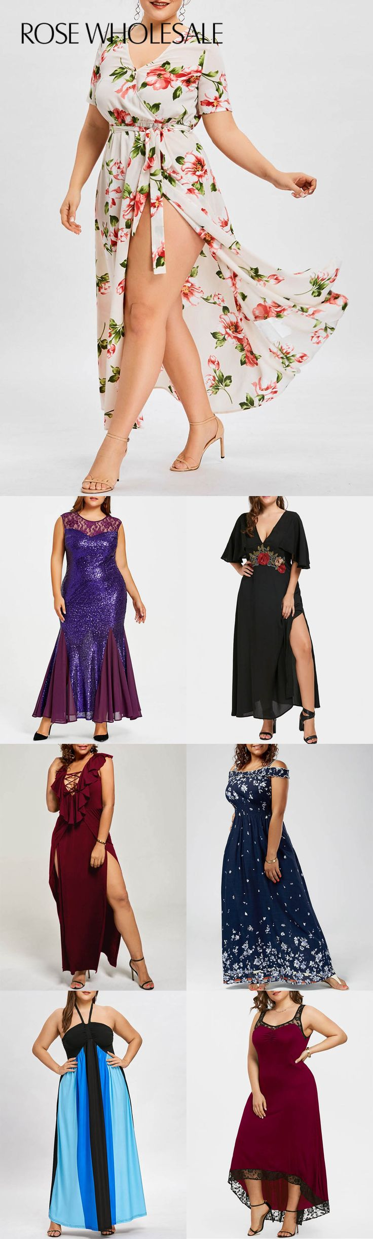 Up to 80% off, rosewholesale plus size maxi floral sequined dress for women | rosewholesale,rosewholesale.com,rosewholesale clothes,rosewholesale.com clothing,floral dress,rosewholesale plus size,rosewholesale dress,maxi dress,sequined dress,beach dress,spring break outfit, spring outfit, dress | #rosewholesale #plussize #maxidress