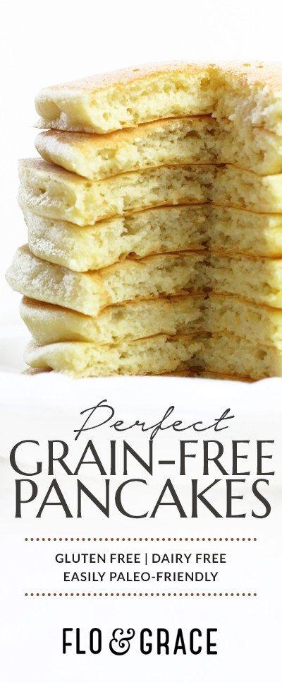 Grain Free Coconut Flour Pancakes | Flo and Grace