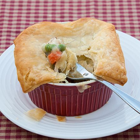 Individual Chicken Pot Pies | Food | Pinterest