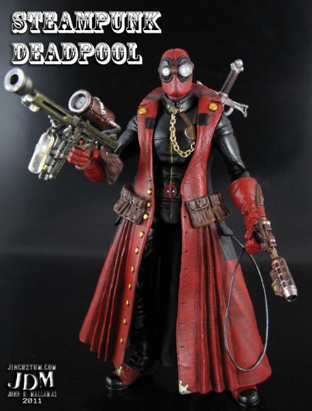 Steampunk Deadpool (Marvel Legends) Custom Action Figure