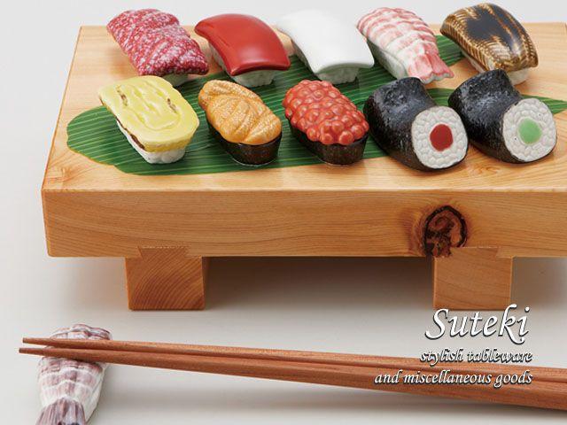 Sushi hashioki from Rakuten ... looks good enough to eat!