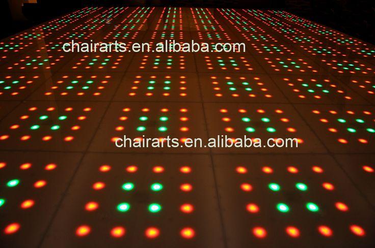 acrylic led dance floor