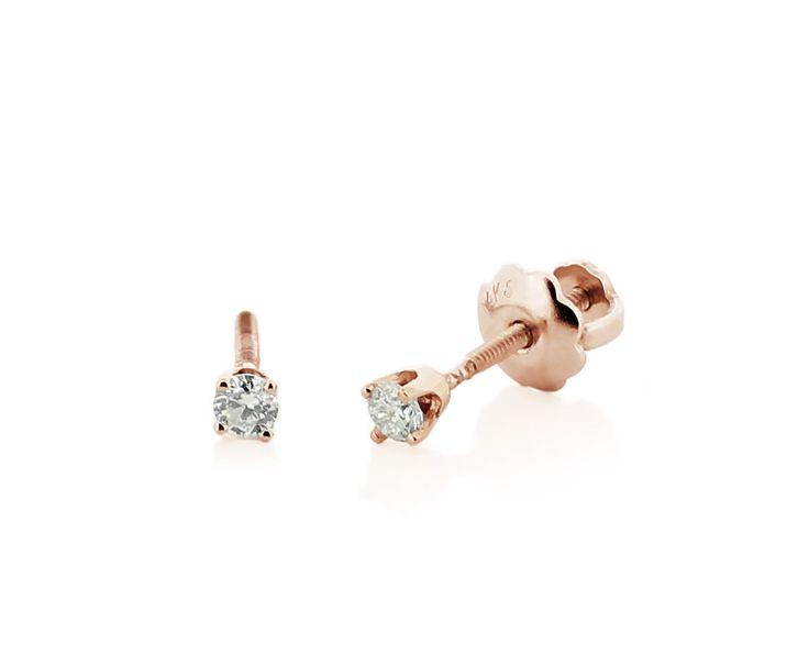 Real Diamond Earrings For Girls
